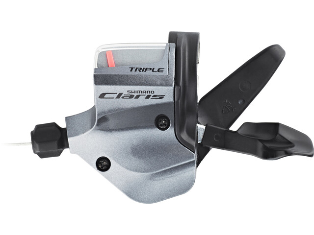Shimano Claris SL-2400/2403 Levier de vitesse 3 vitesses, gauche, grey